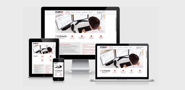 Webdesign auf unterschiedlichen Endgeräten.