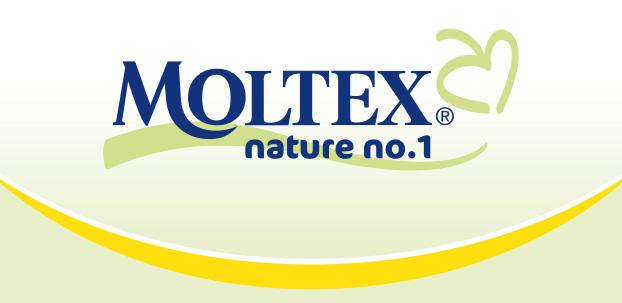 Logo Moltex. nature no.1