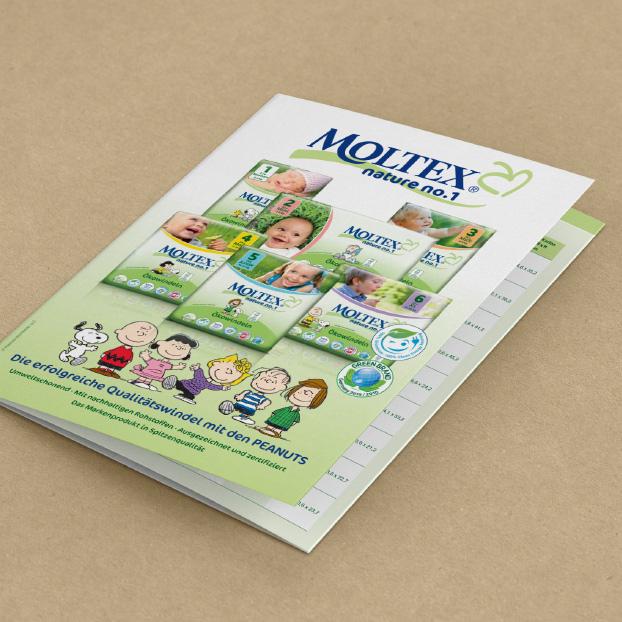 Broschüre von Moltex. nature no.1