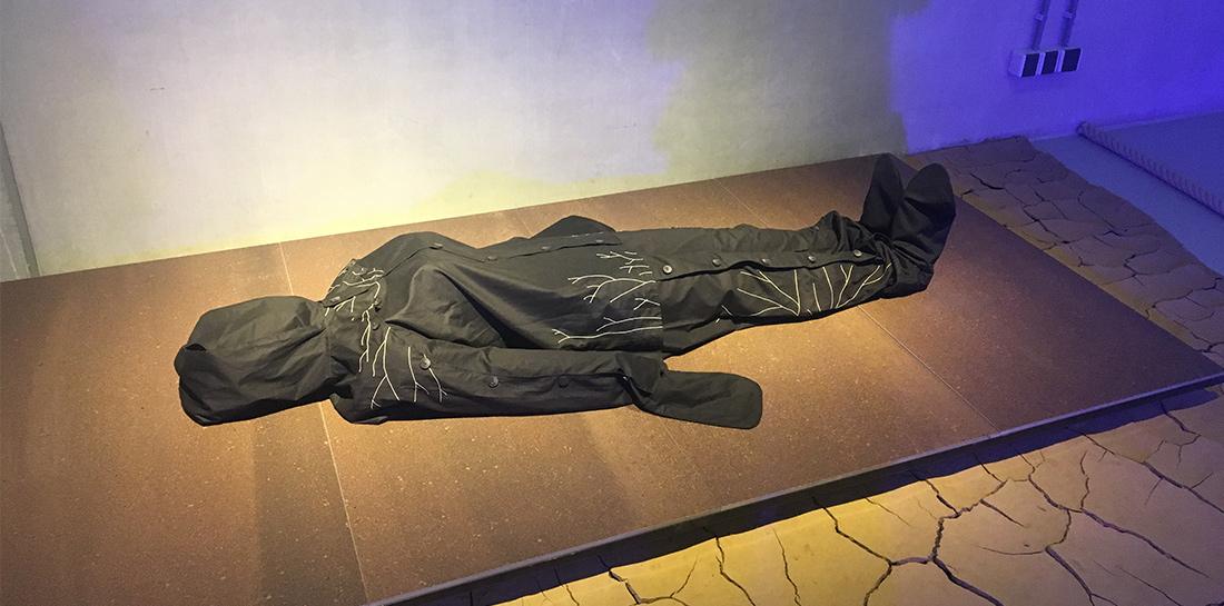 Besuch beim Cube design Museum in Kerkrade mit vielen ausgestellten Projekten zum Thema NATURE Collaborations in design.