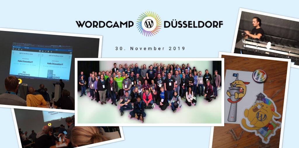 Das erste rheinische WordCamp in Düsseldorf 2019.