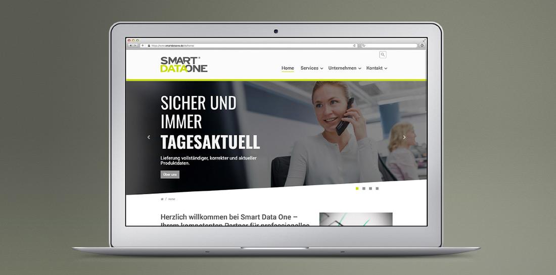 SmartDataOne mit neuer Website als Schnittstelle zwischen Servicedienstleister und Kunde.