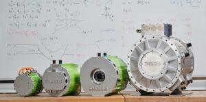 Abbildung von E-Motoren für die Website unseres Kunden