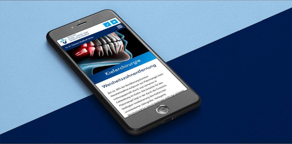 Praxiseröffnung, Corporate Design und Websiteebstellung für Dr. Dr. Mußhoff