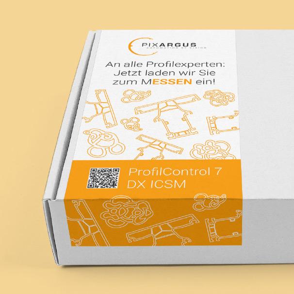 Box von PIXARGUS: An alle Profilexperten: Jetzt laden wir Sie zum MESSEN ein!
