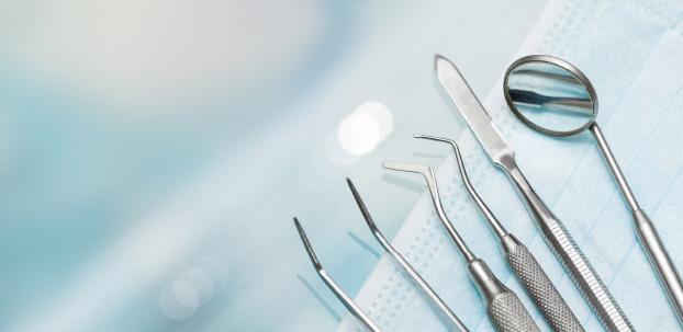 Ansicht von verschiedneren Dentalgeräten.