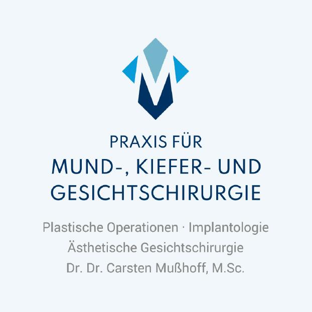 Praxis für Mund-, Kiefer- und Gesichtschirurgie. Plastische Operationen, Implantologie, Ästhetische Gesichtschirurgie. Dr. Dr. Carsten Mußhoff, M.Sc.