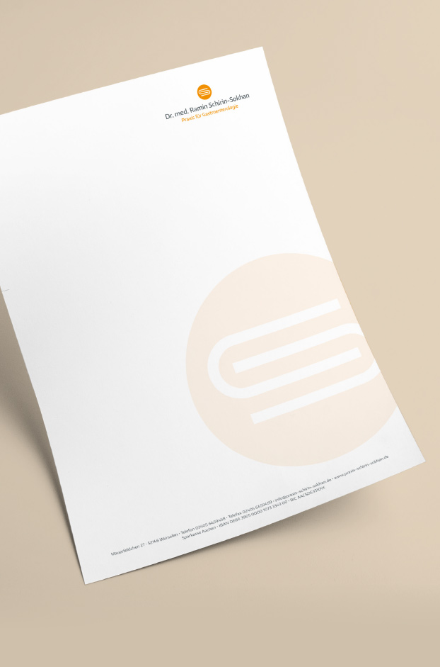Briefpapier im Corporate Design