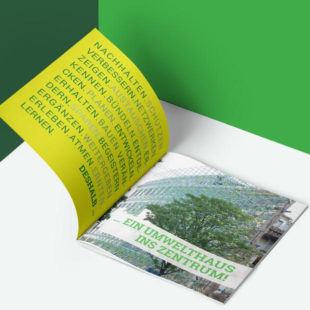 Broschüre von Umwelt-ins-Zentrum