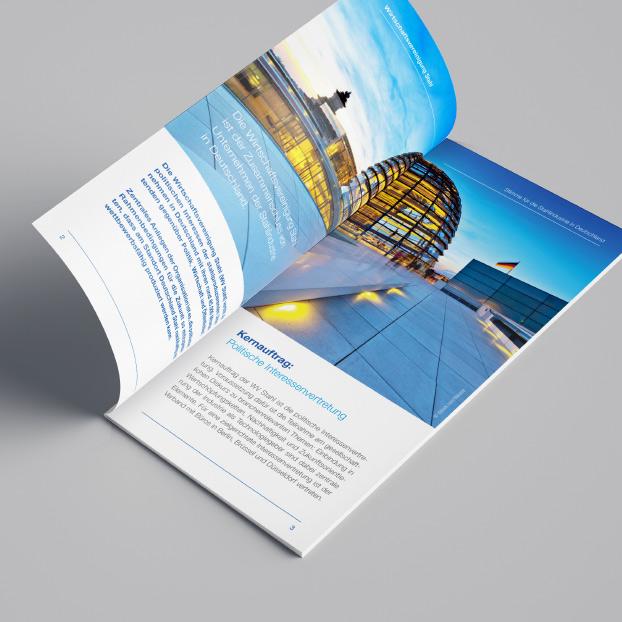 Broschüre der Wirtschaftsvereinigung Stahl zum Thema Perspektiven der Stahlproduktion in einer treibhausgasneutralen Wirtschaft.