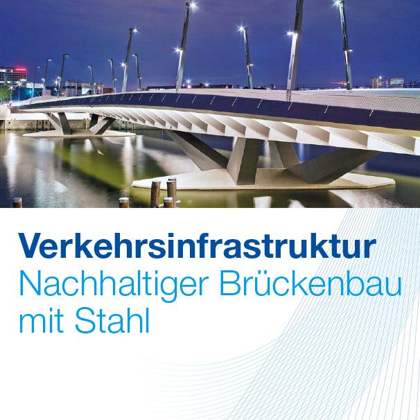 Wirtschaftsvereinigung Stahl. Verkehrsinfrastruktur. Nachhaltiger Brückenbau mit Stahl.